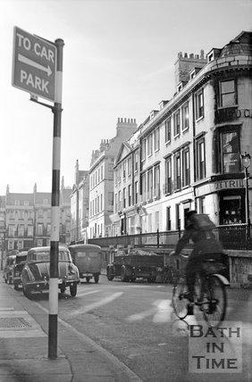 George Street, Bath, c.1955