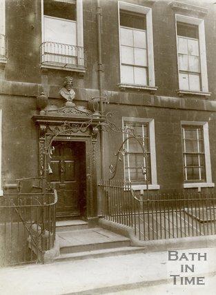 Alfred House, 11, Alfred Street, Bath 1912
