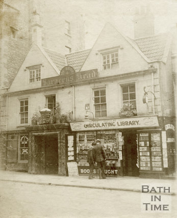 The Saracen's Head, Broad Street, Bath, 1912