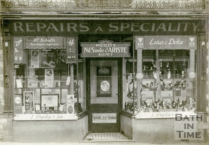 J. Pugsley & Son, footwear shop, Bath c.1930