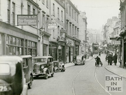 Broad Street, Bath c.1935