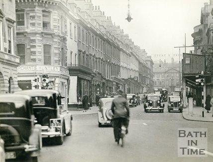 Milsom Street, Bath c.1930