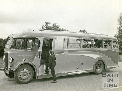 A luxury Bath Coach c.1950?