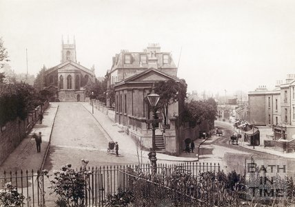 St Mark's Road and Claverton Street, Widcombe, Bath 1895