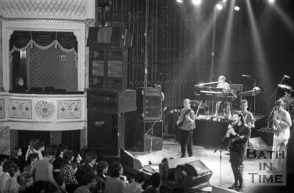 Tears for Fears at the Theatre Royal, Bath, 31 March 1985