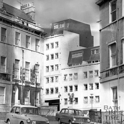Balance Street, old and new, Bath, 6 June 1973