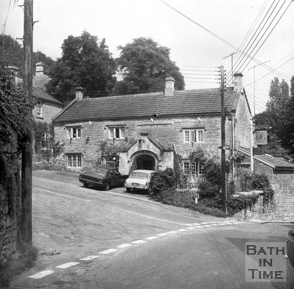 The Hop Pole Inn, Limpley Stoke, near Bath, July 1973