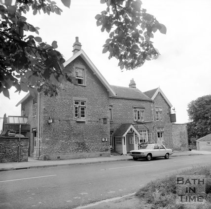 The Hare & Hounds, Lansdown, Bath, July 1973