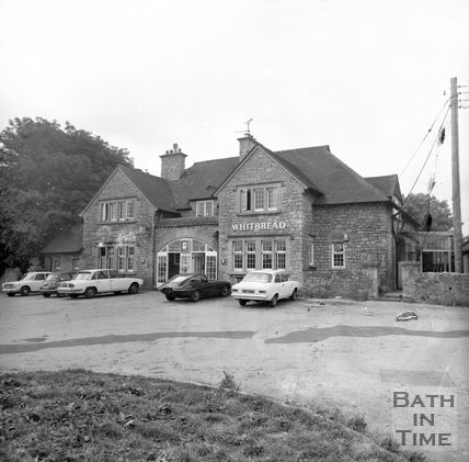 The Blathwayt Arms, Lansdown, Bath, July 1973