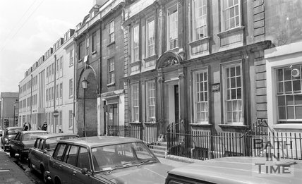General Wolfe's house, Trim Street, Bath, 15 May 1974