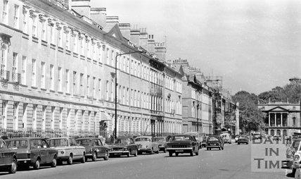 Great Pulteney Street, Bath, 15 May 1974