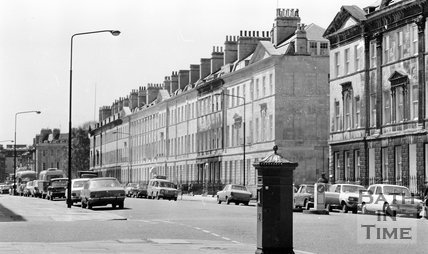Great Pulteney Street, Bath, 15 May 1974