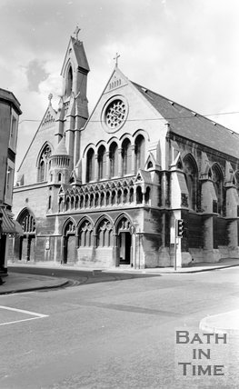 Holy Trinity Church, St Pauls Palace, Bath, 15 May 1974