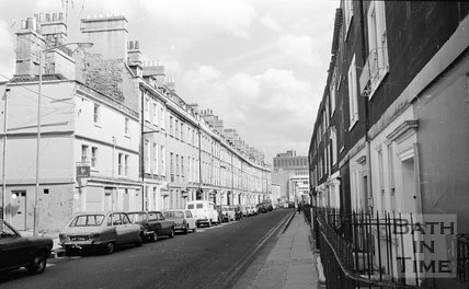 New King Street, Bath, 15 May 1974