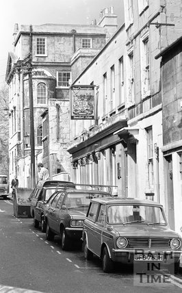 The Beaufort Arms, Princes Street, Bath, 15 May 1974