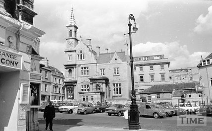 Theatre Royal, Bluecoat School, Saw Close, Bath, 15 May 1974