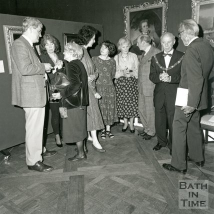 The opening of the Holburne One Hundred Exhibition, Bath, 14 May 1993