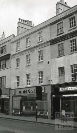 The Golden Lion, 10, Southgate Street, Bath 1965