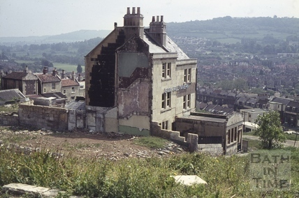 The Crooked Fish/The Gay's Hill Tavern, 3, Gay's Buildings, Gay's Hill, Bath c.1966