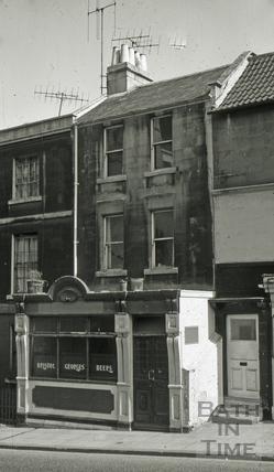 The Cooper's Arms, 37, Claverton Street, Widcombe, Bath 1965