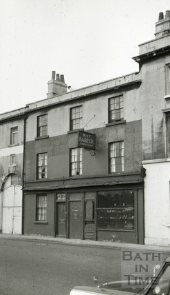 The Corn Market Tavern, 60, Walcot Street, Bath 1965