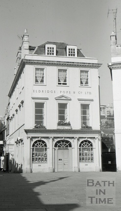 Eldridge Pope & Co. Ltd./The Huntsman, 1, Terrace Walk, Bath 1966