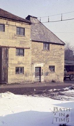 The London Brewery, off of London Street, Bath 1965