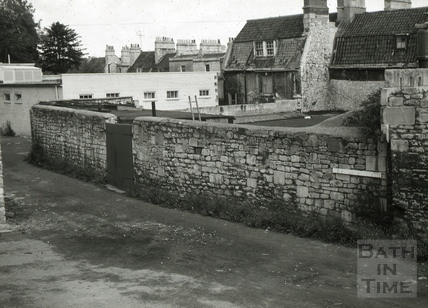 Malthouse, rear of Widcombe Parade, Widcombe, Bath 1965
