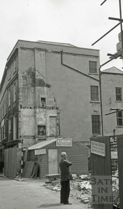 The London Dining Rooms, 19 & 20, Upper Borough Walls, Bath 1965