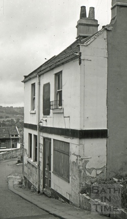The Mason's Arms, 11 & 12, Claremont Row, Tyning Lane, Bath 1966