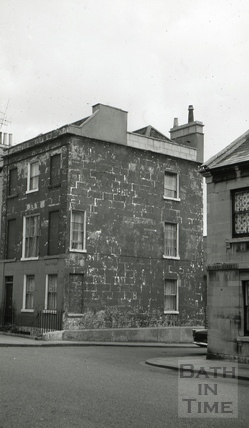 The Druid's Arms/The Manvers' Arms, 10, Philip Street, Bath 1965
