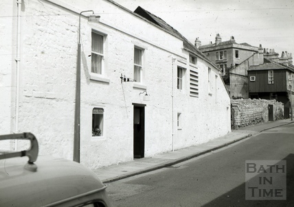 The Larkhall Inn from St. Saviour's Road, Larkhall, Bath 1965