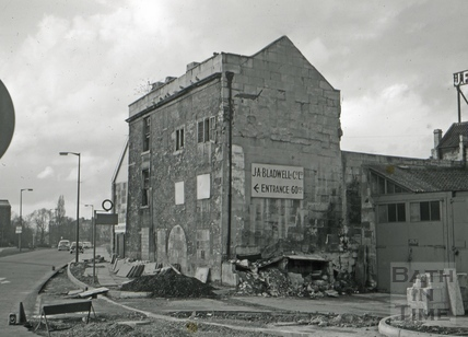 The Quay Brewery, Broad Quay, Bath 1966
