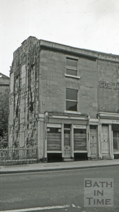 The Prior Park Tavern, 2, Cobourg Place, Claverton Street, Bath 1966