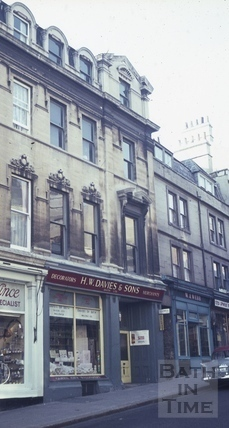 The Post Office Tavern, 11, Broad Street, Bath c.1965