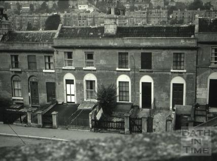 The Cleveland Tavern/The Lamb, 9, Hampton Row, Bath 1966