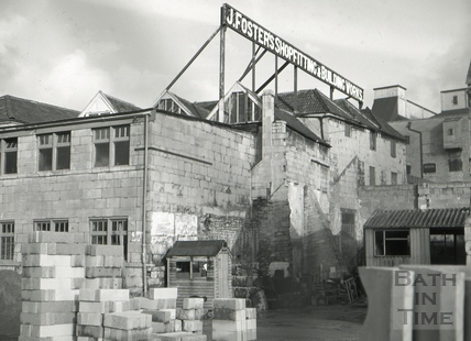 The Quay Brewery, Broad Quay, Bath 1966