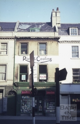 Rich & Cooling Ltd., seed merchants, 2, Walcot Street, Bath c.1965
