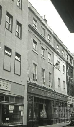 Old Westgate Brewery, 33, Westgate Street, Bath 1966