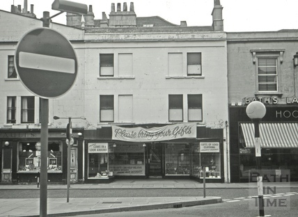 The Bath Arms/The Old Bath Arms, 19, Southgate Street, Bath 1966