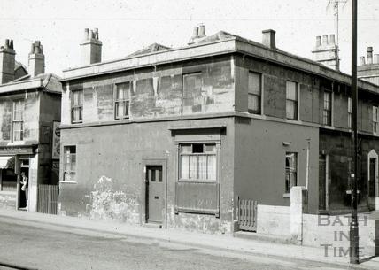 The Pack Horse, 1 & 2, Albert Terrace, Widcombe, Bath 1965