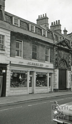 The New Market Tavern, 5, New Market Row, Bath 1966