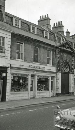 The New Market Tavern, 5, New Market Row, Bath 1966