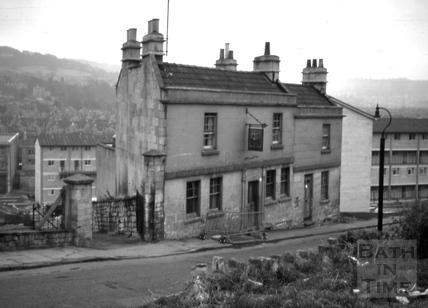 The New Inn, 8 & 9, Juda Place, Snow Hill, Bath 1966
