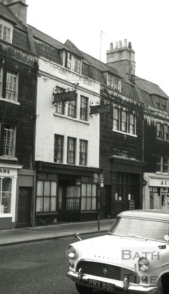 The Stag's Head, 4, Widcombe Parade, Bath 1966