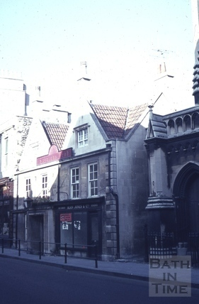 The Saracen's Head, 42, Broad Street, Bath 1965