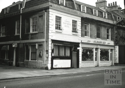 The Chequers/The Rummer/The Grove Hotel, 6, New Market Row, Bath 1966