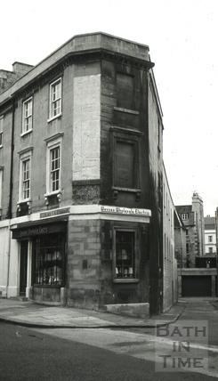 Wessex Wholesale Electric store, 21, St. James's Parade, Bath 1966