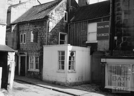 The Young Fox, Old Orchard, Holloway, Bath 1965