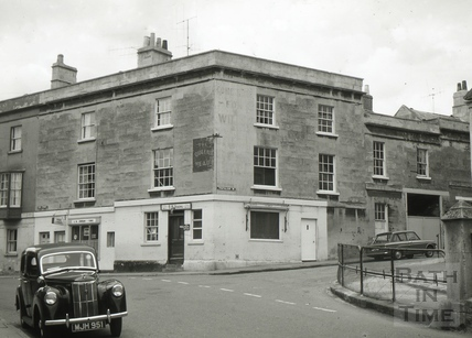 The White Lion/The Queen's Head, Weston, Bath 1965